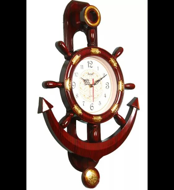 Buy Ariel Brown Pendulum Wall Clock Small at Lowest Price ...